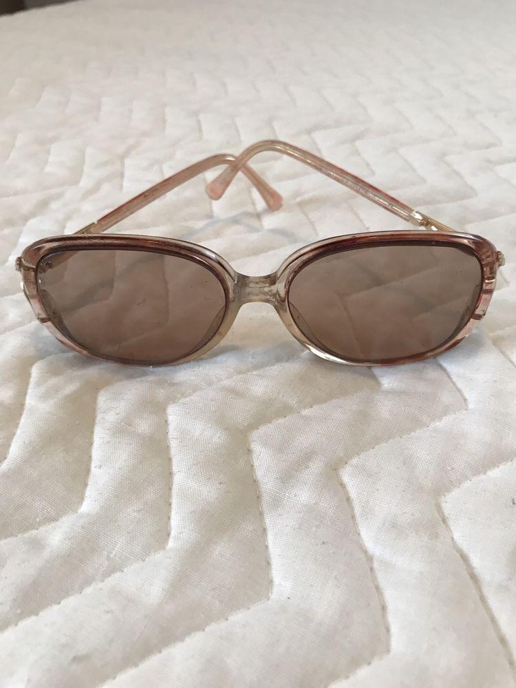 Ladies Marchon Blue Ribbon Pink Tinted Eyeglasses Frame   eBay   Eye ...