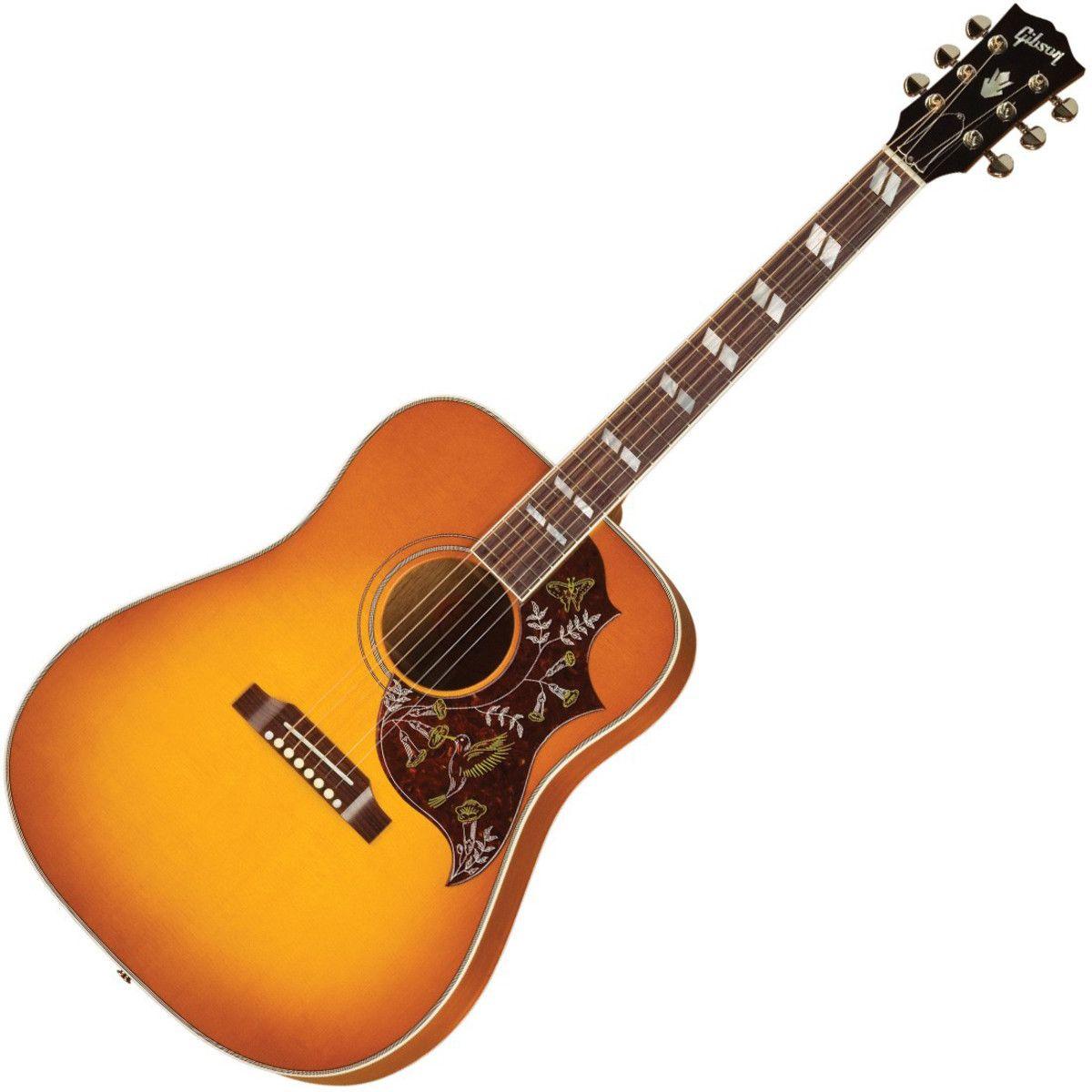 Gibson Hummingbird Electro Acoustic Guitar Heritage Cherry Sunburst At Gear4music Com Electro Acoustic Guitar Gibson Acoustic Guitar
