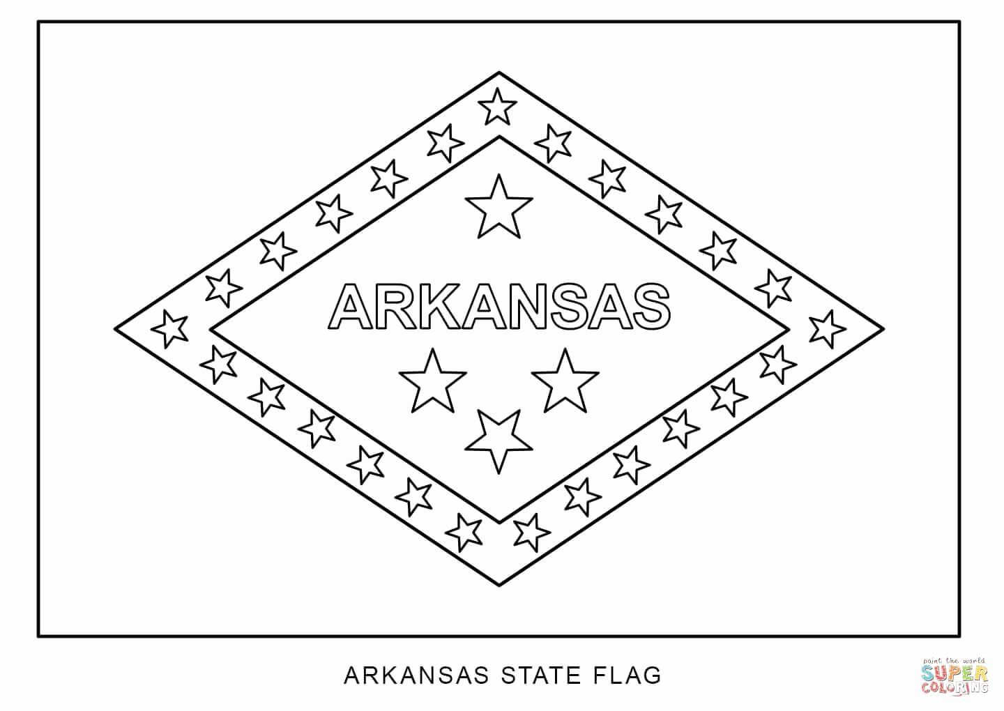 Philippines Flag Coloring Page Inspirational Flag Of Arkansas