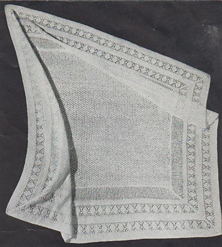 Ravelry: Shawl pattern by Patons Australia   Baby blanket ...