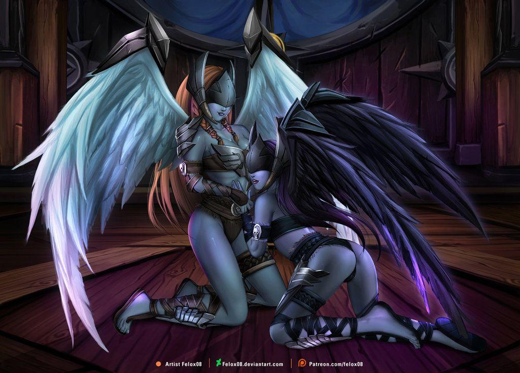 sexy world of warcraft angel