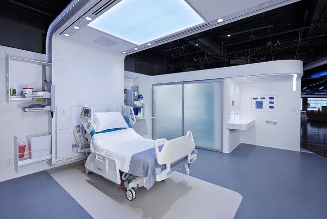 What Would the Ideal Hospital Look Like in 2020? | Interiors, Clinic ...