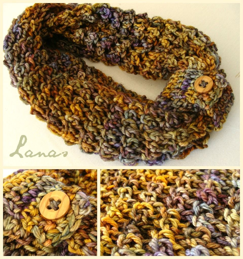Lanas de Ana: Malabrigo Infinity | Crochet cowls | Pinterest