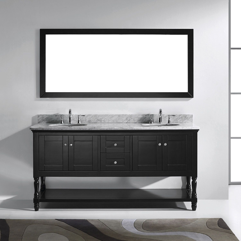 Photo Gallery For Photographers Virtu USA Julianna inch Round Double Bathroom Vanity Set with No Mirror