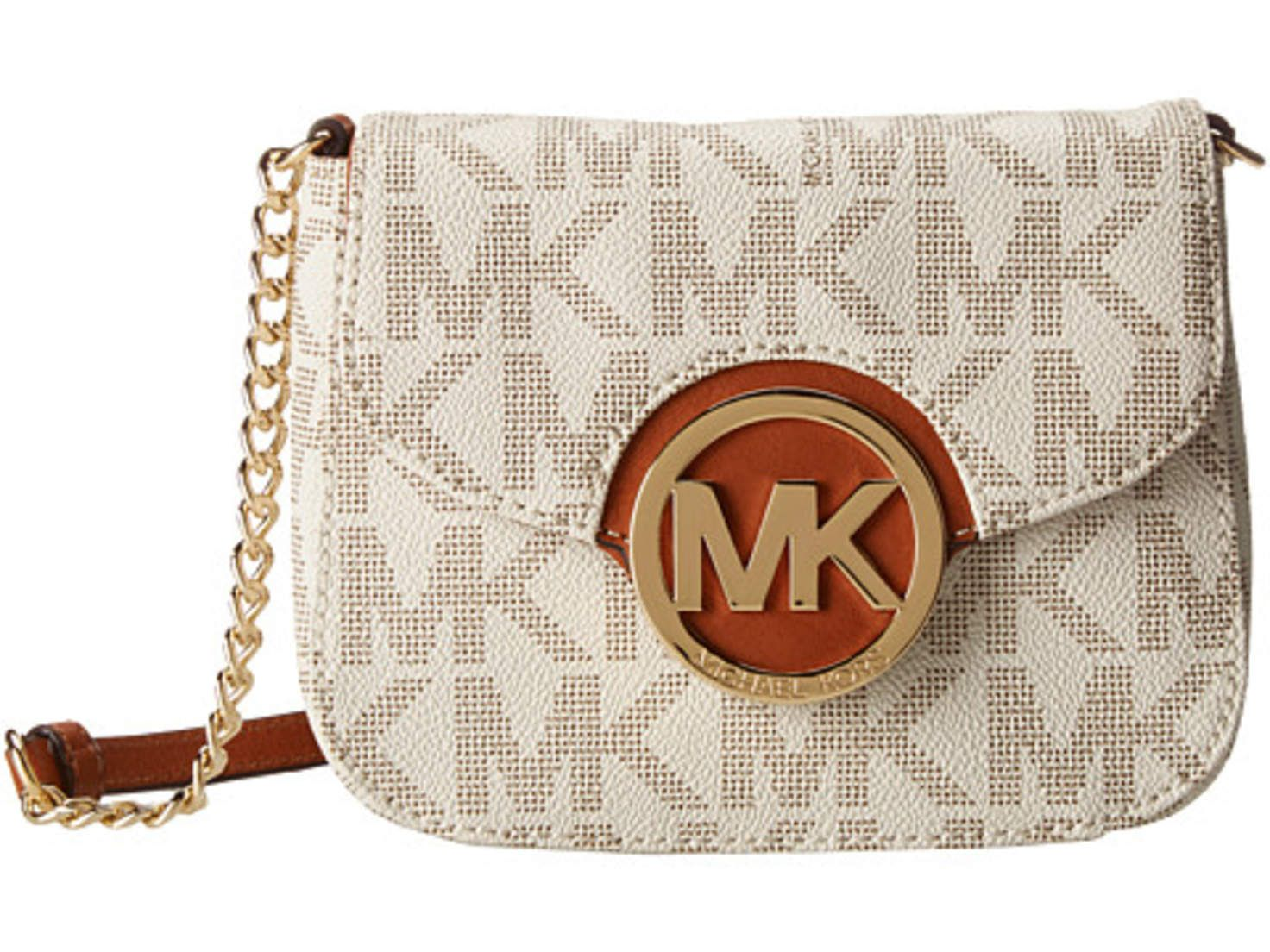 ea67ea6a4 MICHAEL Michael Kors Fulton Small Crossbody Vanilla - Zappos.com Free  Shipping BOTH Ways