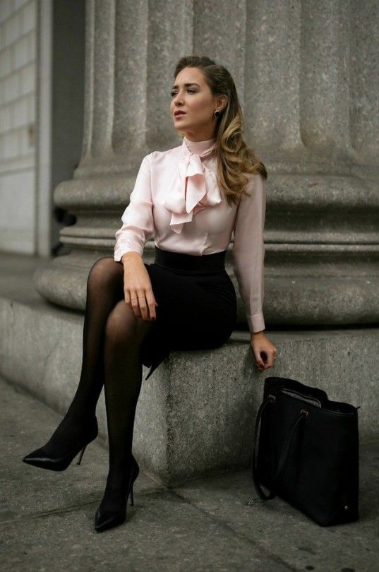 Fashion executive pantyhose
