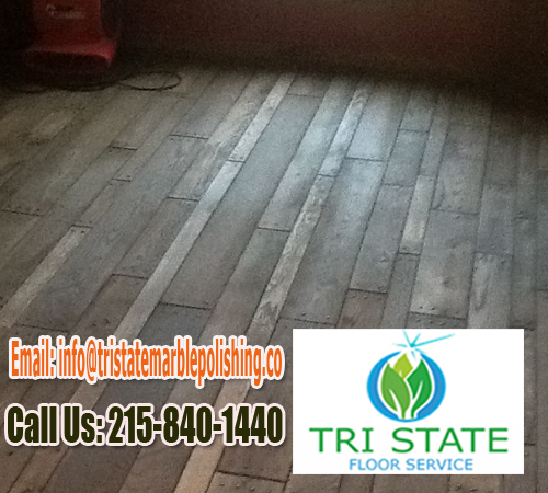 Cleaning A Hardwood Floor In Bucks County With Images