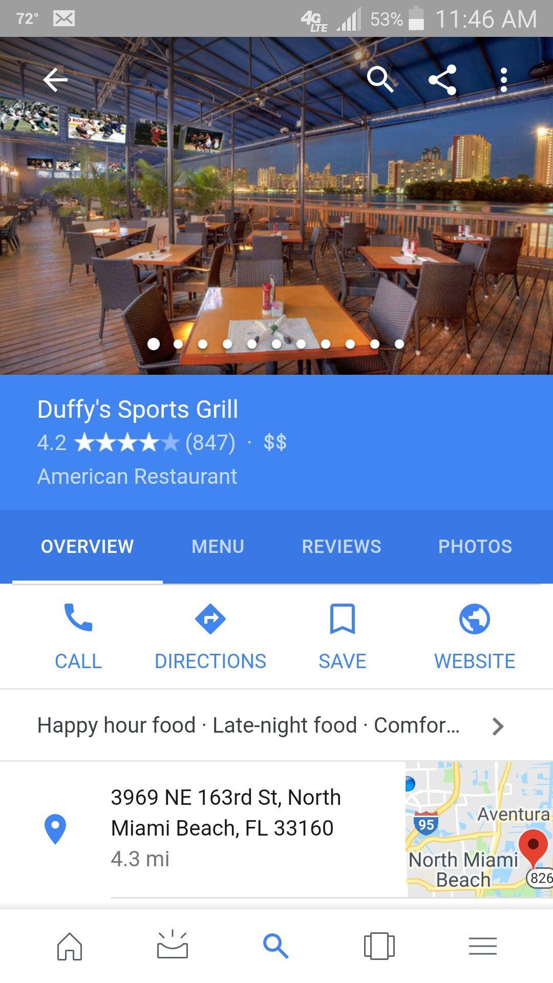 Dog friendly sports bar American restaurant, Happy hour