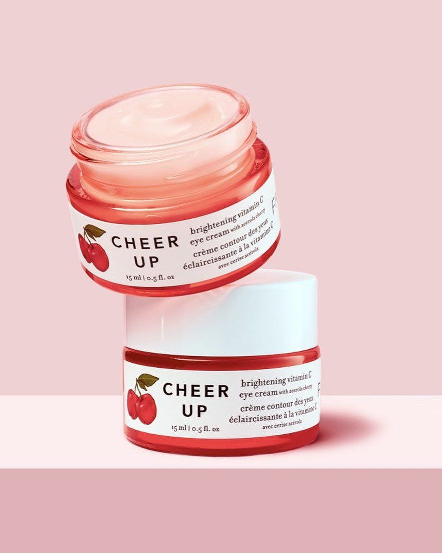 Cheer Up Brightening Vitamin C Eye Cream With Acerola Cherry In