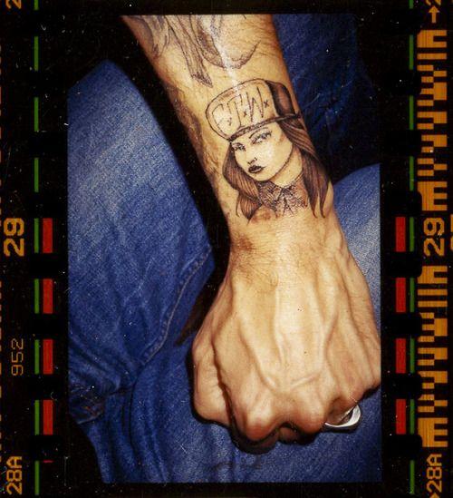 Terry Richardson's awesome cholo tattoo