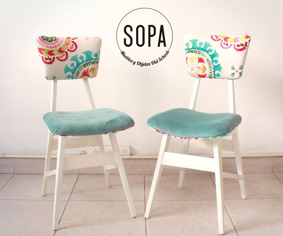 Este par de sillas americanas fue restaurado a pedido en nuestro ...