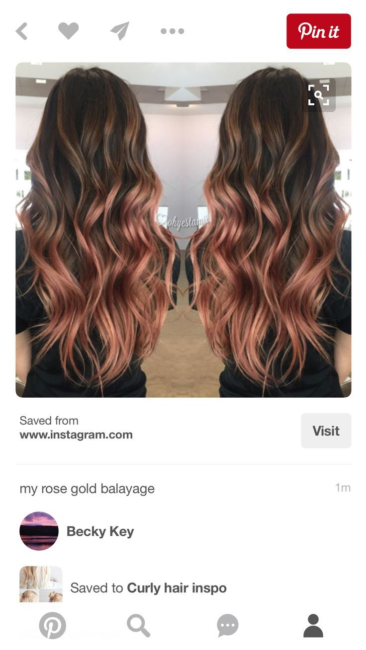 Rose gold hair brunette looking for affordable hair extensions rose gold hair brunette looking for affordable hair extensions to refresh your hair look instantly pmusecretfo Choice Image
