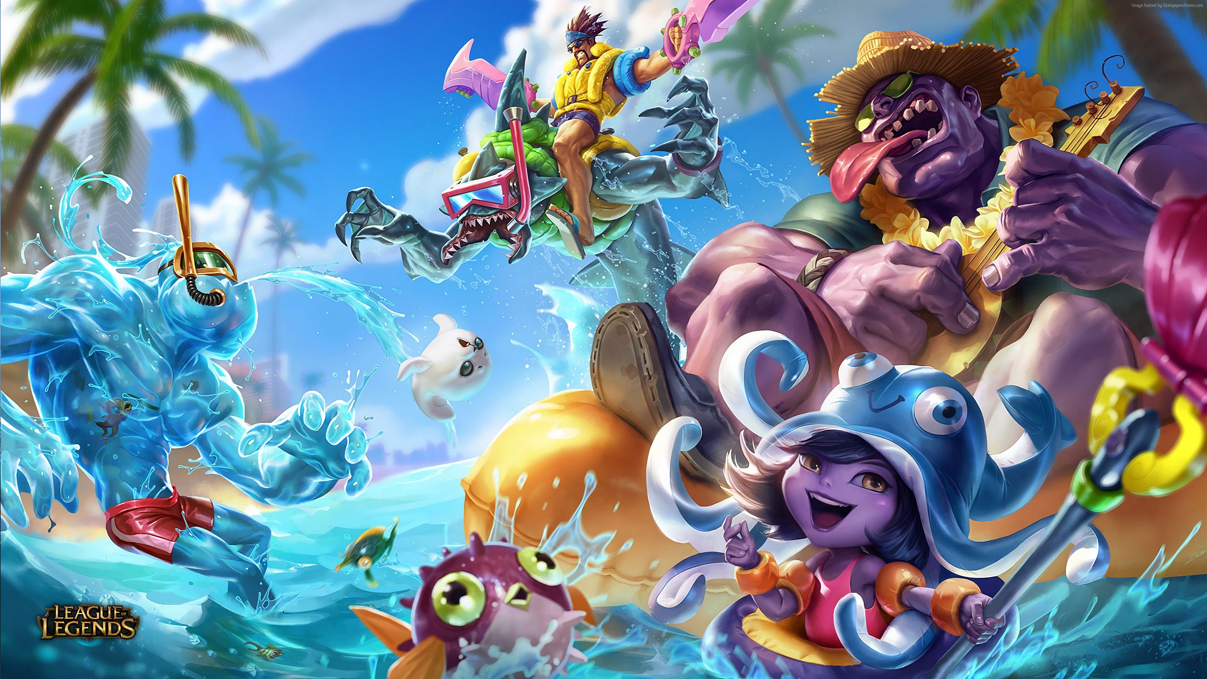 League of Legends Arcade Wallpaper 1920x1080 by AliceeMad on 1920x1080