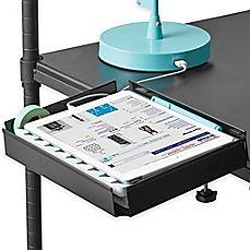 image of Clip-On Flat Metal Bunk Shelf in Black