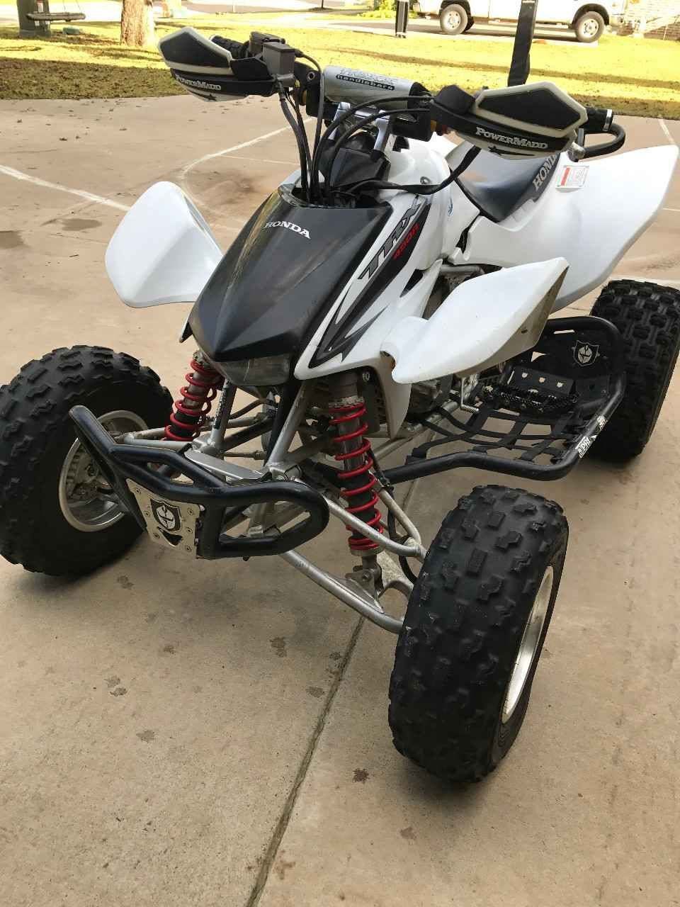Used 2008 Honda TRX 450R ATVs For Sale in Texas. 2008 Honda TRX450, very  clean, very well maintained,runs very strong and fast! Many upgrades as  seen in the ...