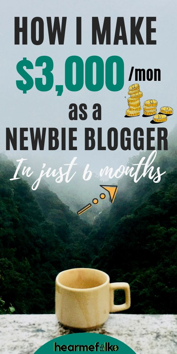 Work from home and make money blogging staying at