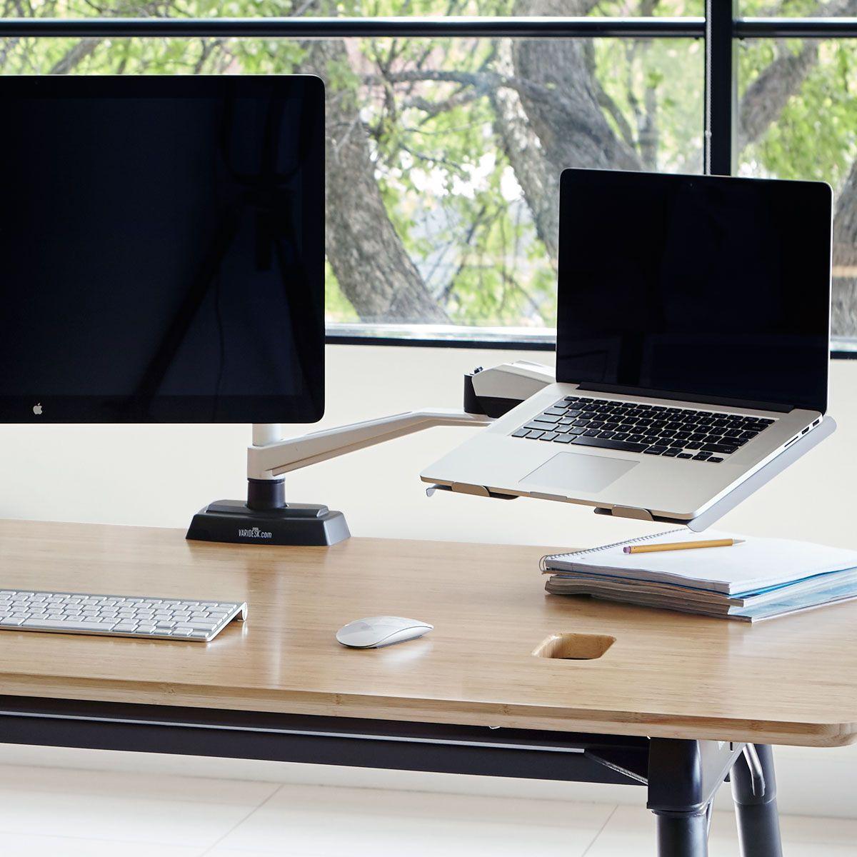 standing desk apple monitor