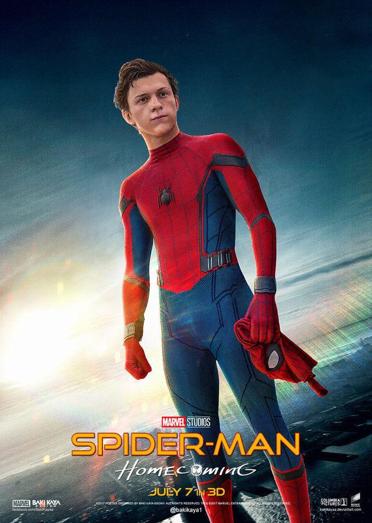 Spider-Man: Homecoming Poster #3 by bakikayaa.deviantart ...