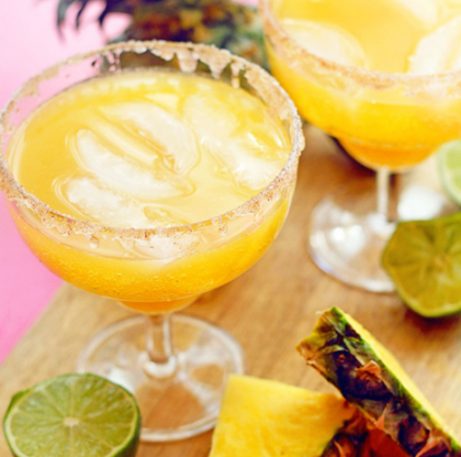 "Delightfully addictive pineapple mocktail margaritas made with refreshing pineapple flavor and a kick of cinnamon. Happy Cinco De Mayo!! I've got Pineapple Mocktail Margaritas on BHG's Delish Dish today to celebrate!  I know you are probably thinking ""Mocktails?  Really?"" but YES!  Sometimes mocktails are just as delicious as the real thing. I started with BHG's …"