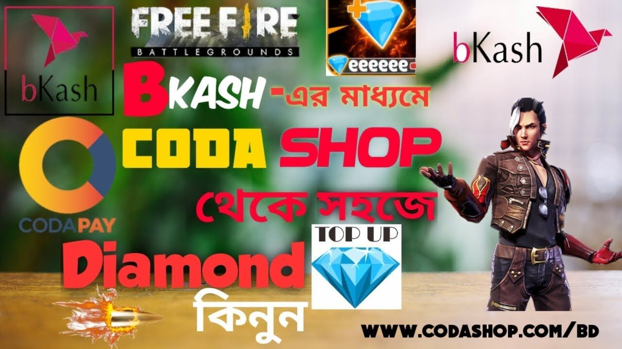 How To Topup Free Fire Diamond In Bangladesh 100 Guarantee Bkash দ য Minecraft Survival Great Videos Youtube