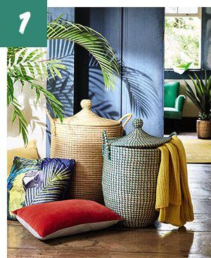 Tendance d co 2016 jungle brazil maisons du monde for Decoration maison tropicale