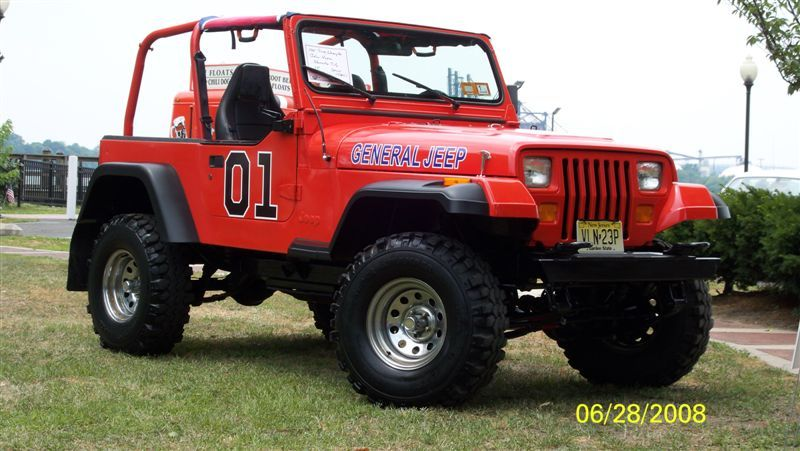 The General Jeep – John Vavra's YJ Wrangler is modeled after the