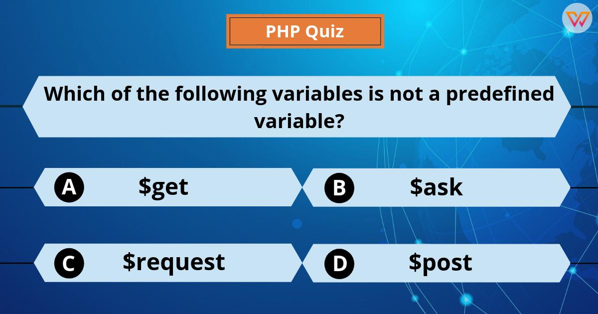 Php Quiz Quiz Web Design Skills