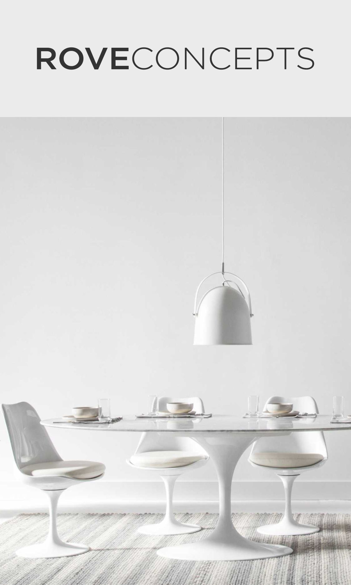 A Mid Century Classic  The Tulip Table Collection Is A