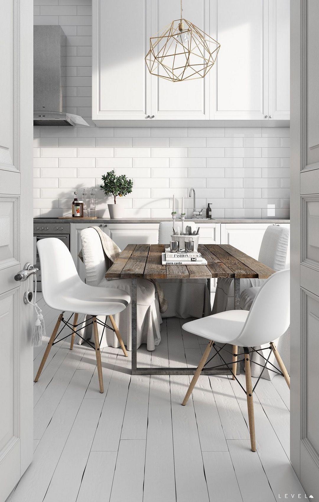Wonderful Modern Scandinavian Kitchen Design 22 Interior De Cocina Cocina Escandinava Cocinas Rusticas