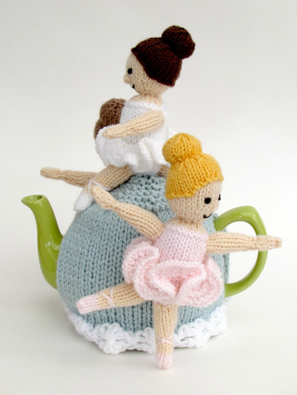 Ballerina Tea Cosy Knitting Pattern Cosy For Teapots Tjkannu
