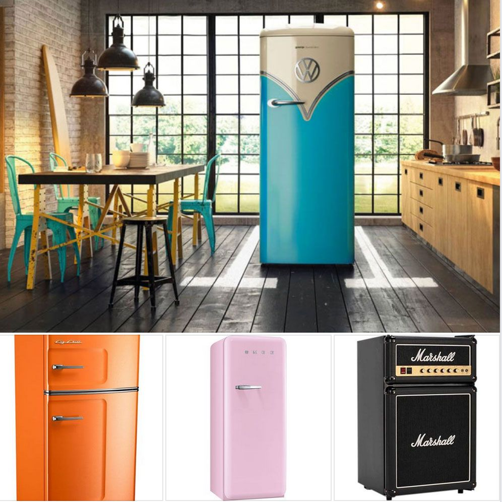 kitchen cool five super stylish retro fridges with images retro fridge rustic outdoor on outdoor kitchen vintage id=15242