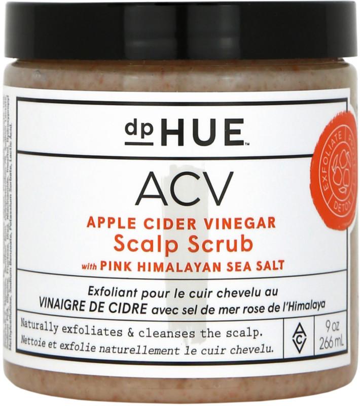 dpHUE Apple Cider Vinegar Scalp Scrub With Pink Himalayan