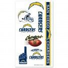 San Diego Chargers Temporary Tattoos | #SanDiego #California #Chargers #SanDiegoChargers #Memorabilia #Sports #Merchandise #Football #NFL | Order Today At www.sportsnutemporium For Only $1.95