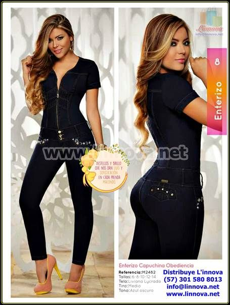 Aa0002 Jeans Enterizos Bragas Venta Por Catalogo Fashion Bodycon Dress Dresses