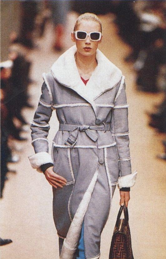Fendi Fall Winter 1996 1997 Milan Designer Karl Lagerfeld