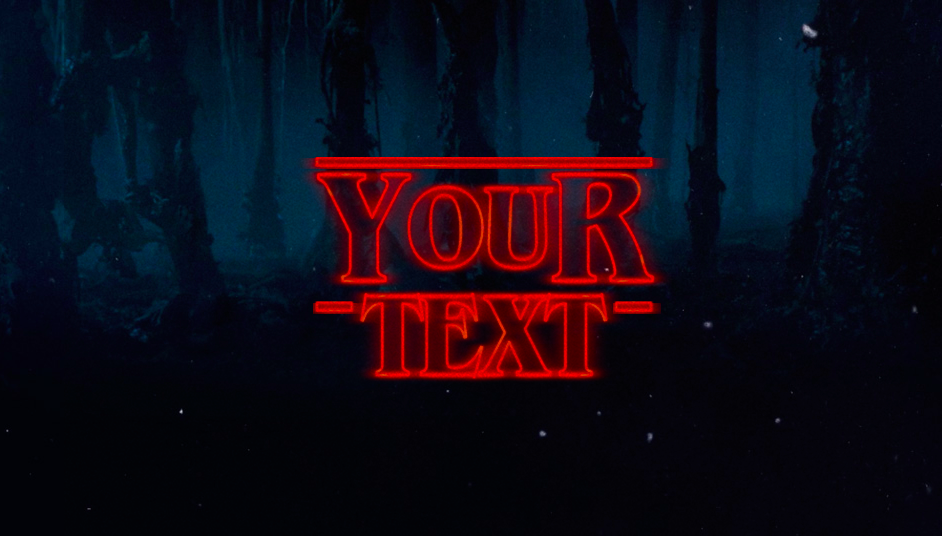 Stranger Things Logo Generator Makes Any Text A Bit Stranger 80s Horror Stranger Things Logo Magic Video