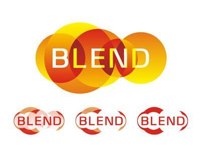 Blend logo design by Alex Tass for Utopia Branding