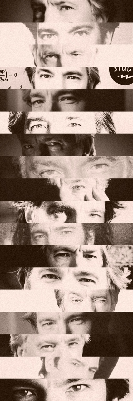 "halfbloodjedi: ""Alan Rickman eyes appreciation ❤️ """