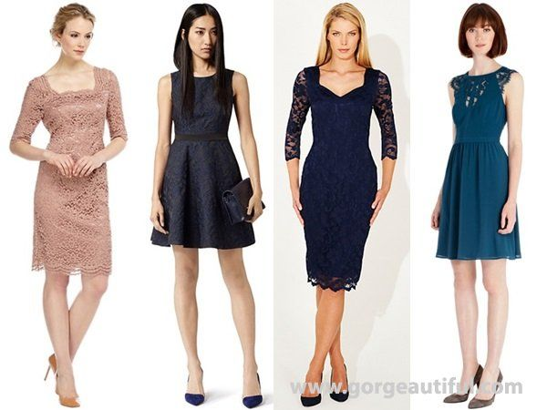 Lace Dress For Wedding Guest