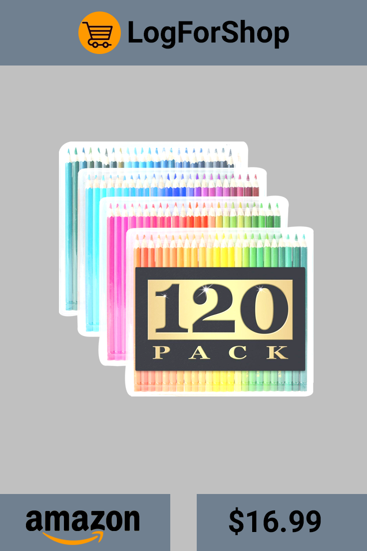 Drawing Pencil Artist's Choice 120Pack Colored Pencils