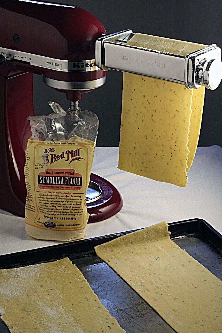 I had yet to make fresh pasta with Semolina Flour and was excited to compare the two recipes. Pasta...