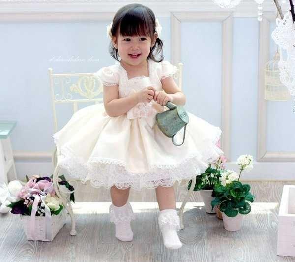 1f21795a0 Vestidos de Boda Cortos Para Niñas