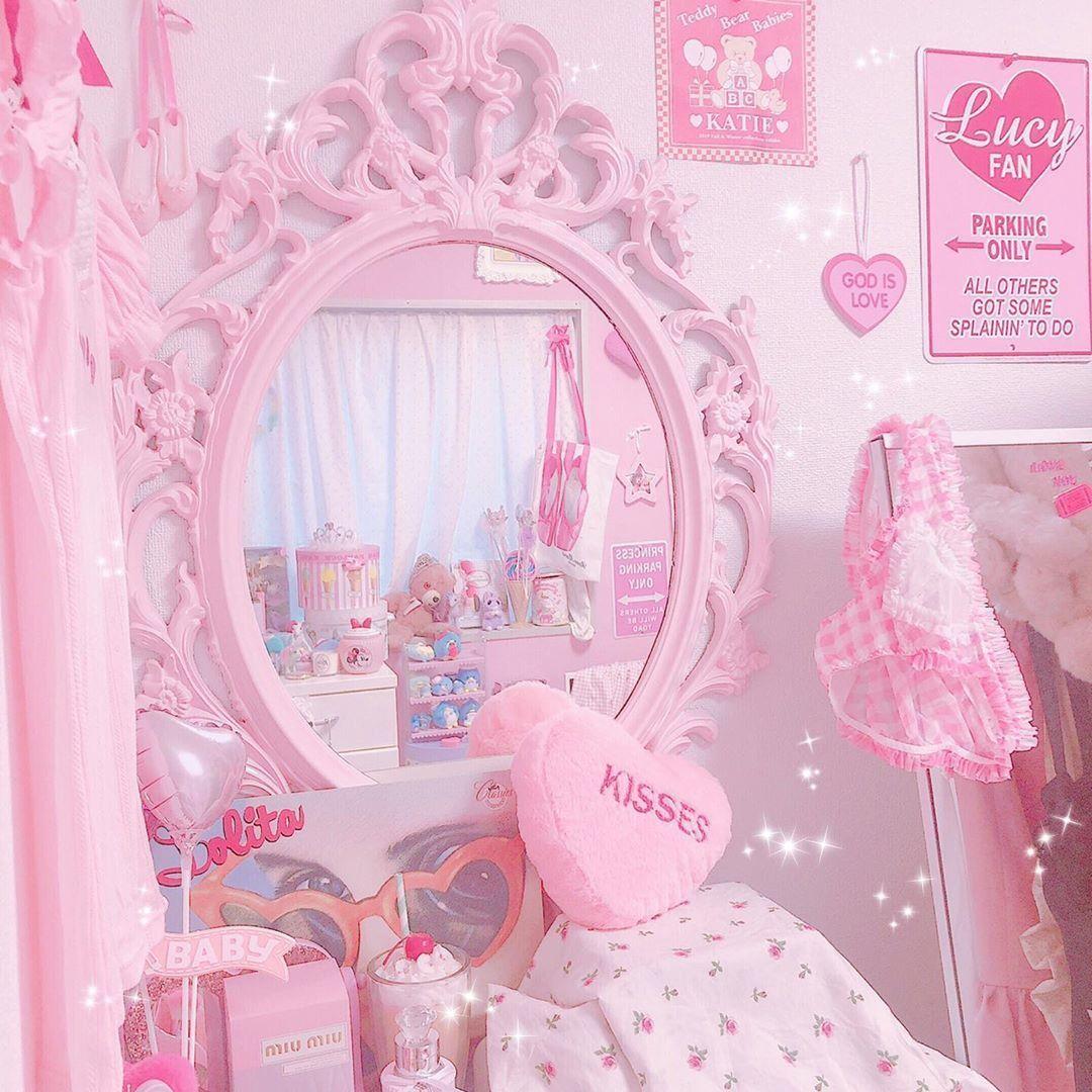 Peachypinkprincess In 2020 Kawaii Room Baby Pink Aesthetic Pastel Pink Aesthetic