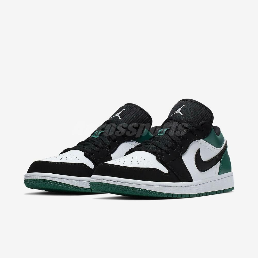 1c800fa3a21d98 Advertisement(eBay) Nike Air Jordan 1 Low I AJ1 Mystic Green White Black Men