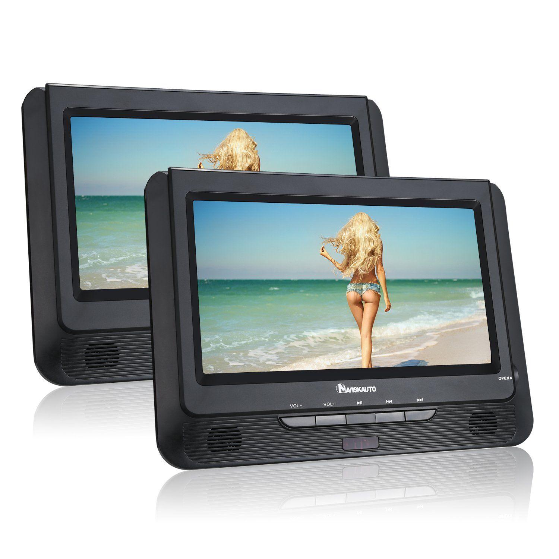 Naviskauto 9 Dual Screen Dvd Player Ultra Thin Tft Screen Car