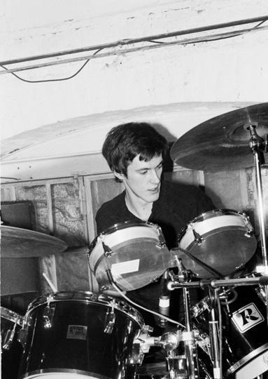 Stephen Morris, Joy Division, 17 January 1980: Philippr Carly - Plan K, Brussels, Belgium