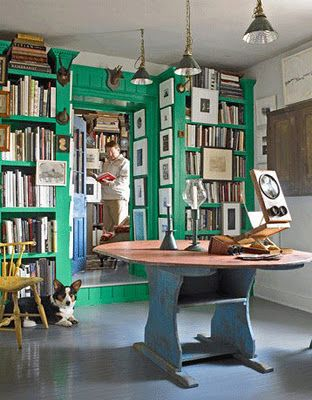 Emerald City Green Rooms Home