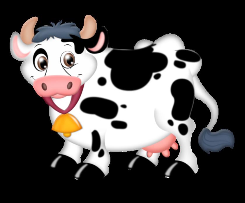 Корова на прозрачном фоне картинки для детей