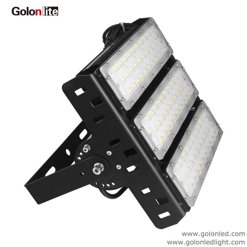 High Efficiency Led Projector Flood Light 150w 200w 400w 300w 1 10v Dali Dimmable 130lm W Ledprojector 150wledprojec Led Flood Lights Led Flood Flood Lights