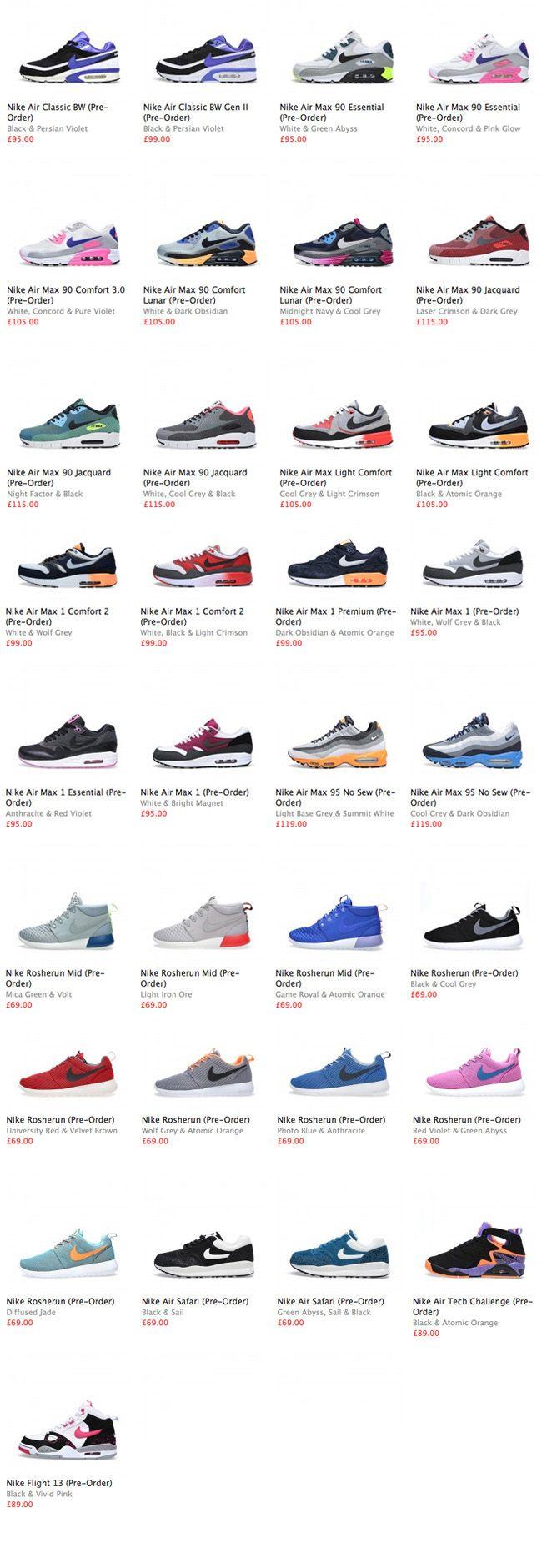 Nike Sportswear January 2014 Sneaker Preview